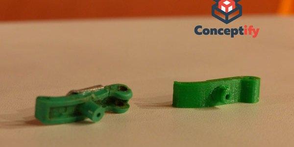 Refabrication d'un levier d'agrafeuse par impression 3D