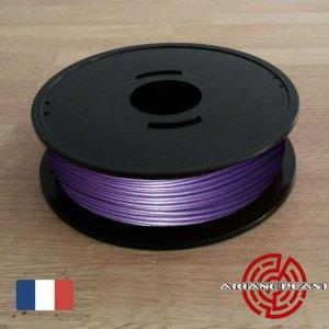 PLA Violet metallisé Arianeplast pour imprimante 3D