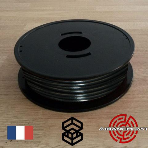 Bobine PLA Noir Arianeplast pour imprimante 3D