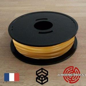 Pla Arianeplast jaune ocre pour imprimante 3D