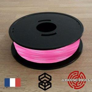 Pla Arianeplast rose translucide pour imprimante 3D
