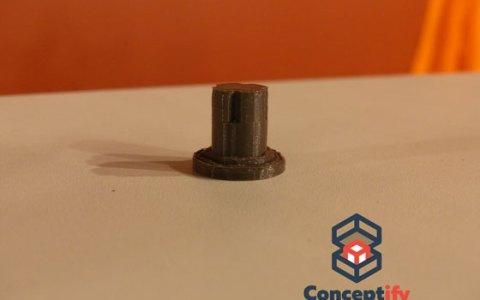 Bouton de gazinière imprimé en 3D