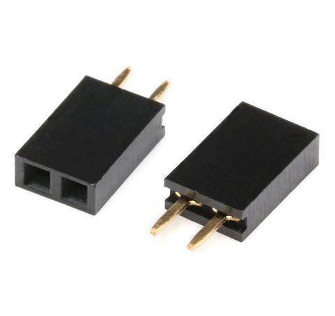 Connecteur Femelle 2 Pins
