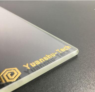 Plaque de verre CR-10