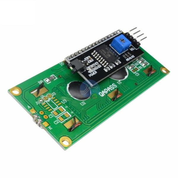 Ecran LCD 1602 pour Arduino (module I²C intégré)