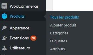 Ajouter Nouveau Produit WooCommerce WordPress Conception E-commerce