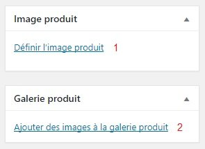 Image(s) d'un Nouveau Produit WooCommerce WordPress Conception E-commerce