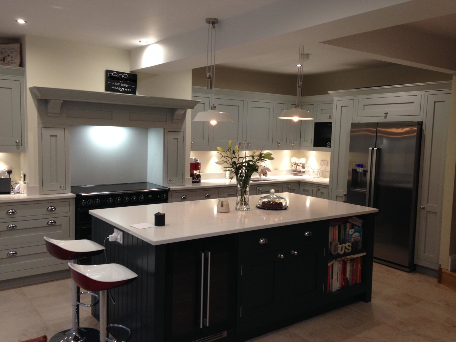 Partridge Grey Amp Charcoal Concept Kitchens