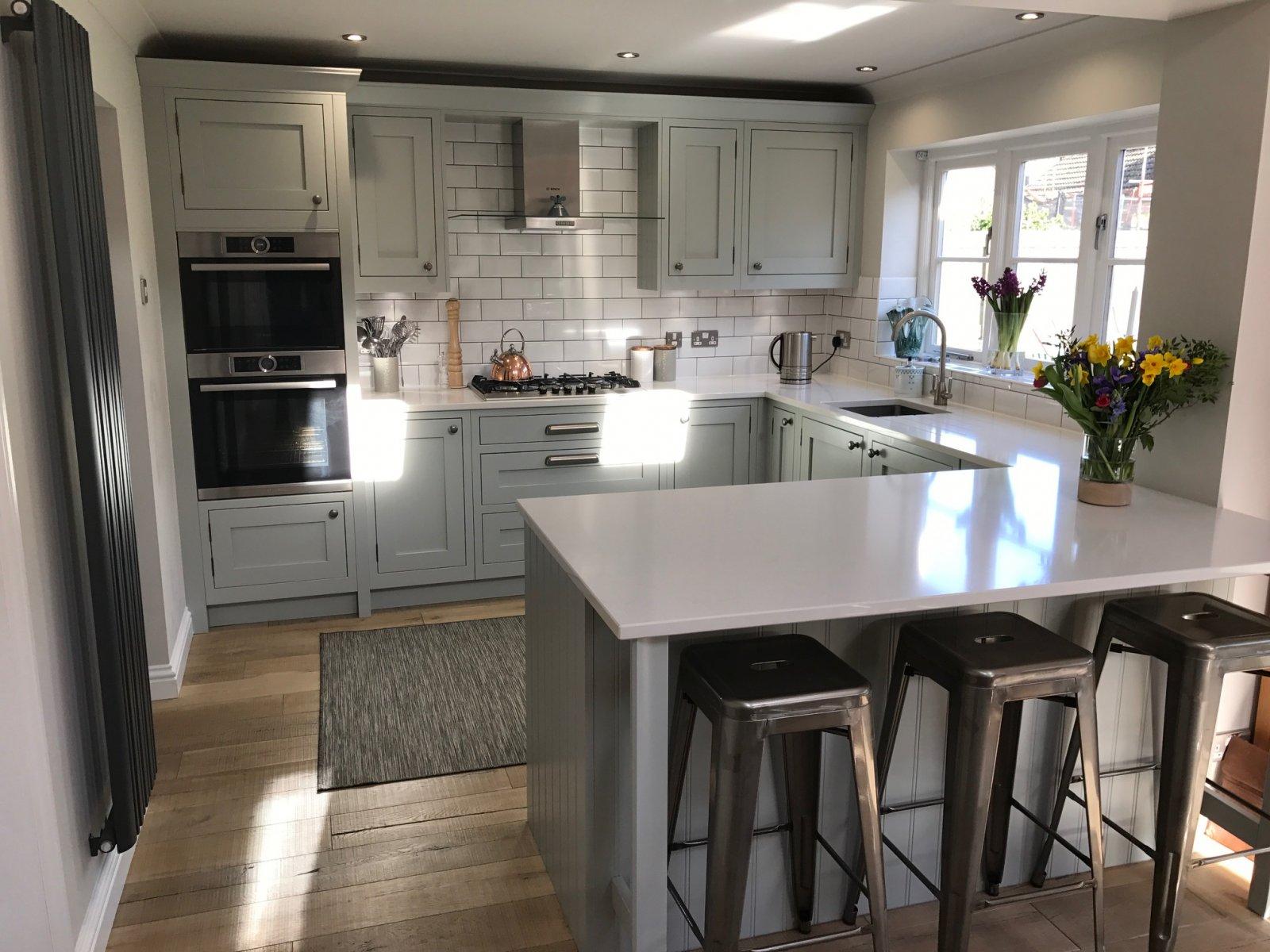 1909 Shaker Partridge Grey Concept Kitchens