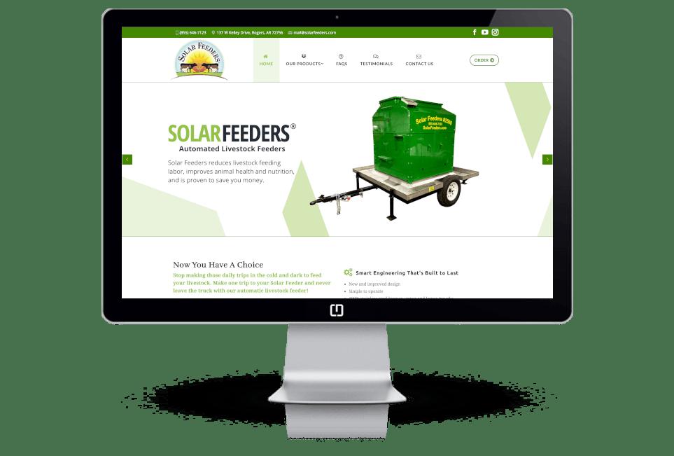 Agriculture Website Design