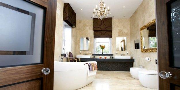 hotel style bedroom and bathroom interior design ideas | concept design
