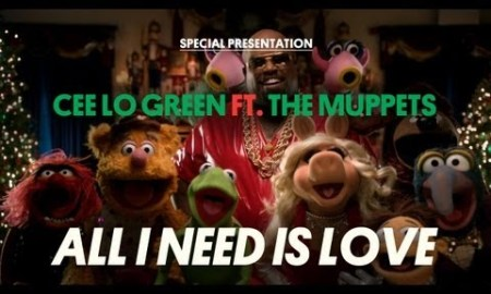 "Cee Lo Green with the Muppets – ""All I Need Is Love"""