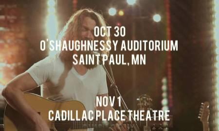Chris Cornell Announces Fall Solo Acoustic Tour