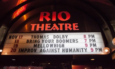 Thomas Dolby @ The Rio Theatre - November 17th 2013