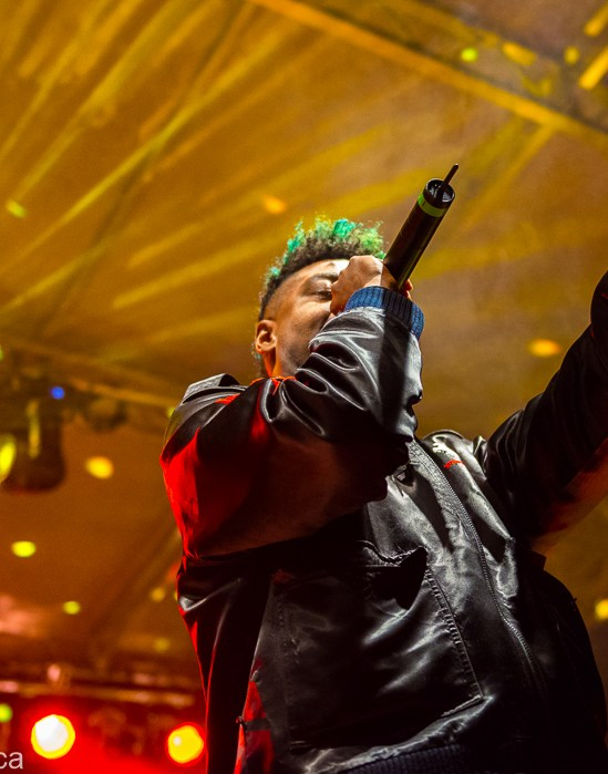 Danny Brown @ Rifflandia Festival © Rob Porter