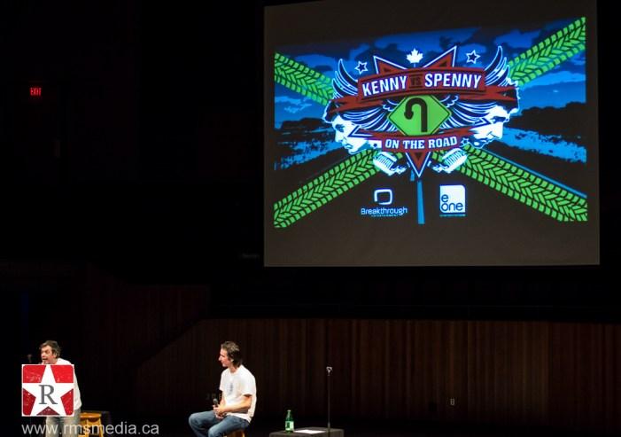 Kenny vs Spenny @ Farquhar Auditorium Victoria © Rob Porter