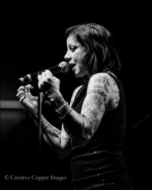 Bif Naked at Hard Rock Casino Vancouver ©CreativeCopperImages