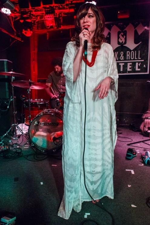 Nicole Atkins at Rock and Roll Hotel © Matt Condon