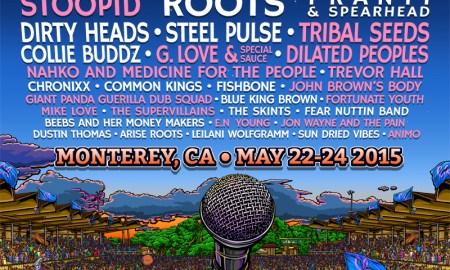 California Roots Musics & Arts Festival 2015