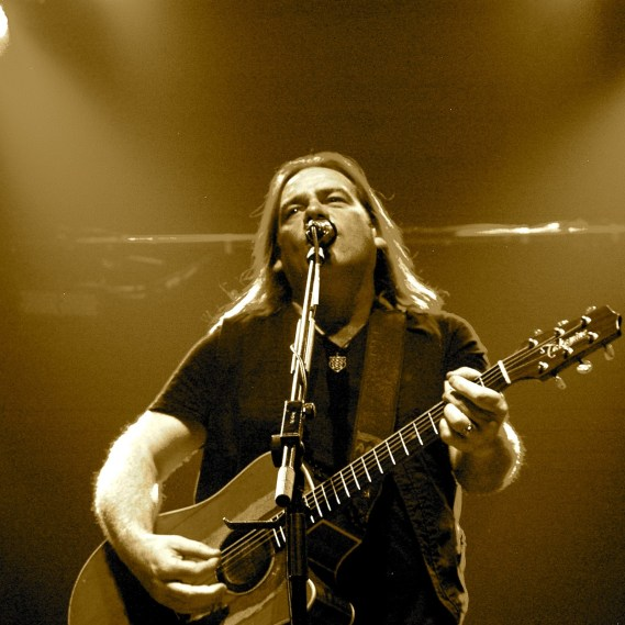 Alan Doyle of Great Big Sea at The Vogue Theatre © Gillian Dunn