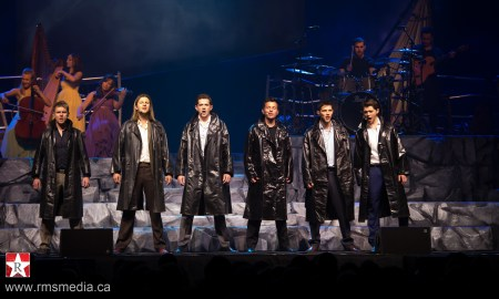 Celtic Thunder performing live at the Save On Foods Memorial Centre in Victoria on Mar 11th 2015 © Rob Porter