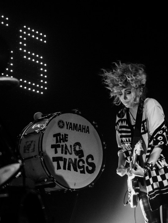 The Ting Tings at VENUE © Mike Browne
