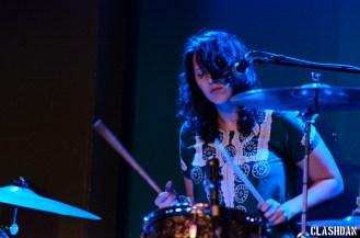Kristin Leonard of The Shivas @ Kings Barcade © Dan Kulpa