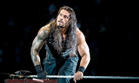 Roman Reigns at WWE LIVE Road to WrestleMania @ Abbotsford Centre - March 13th 2