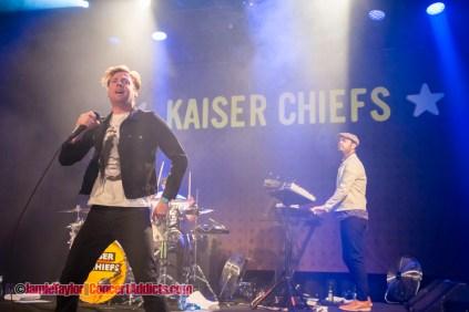 Kaiser Chiefs @ Commodore Ballroom Vancouver © Jamie Taylor