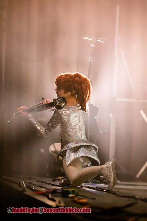 Lindsey Stirling @ Queen Elizabeth Theatre Vancouver © Jamie Taylor