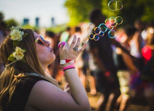 Day 1 @ Bestival Toronto- June 11th © Joey Rootman. Bubbles