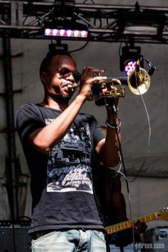 Hypnotic Brass Ensemble @ Sled Island © J. Dirom
