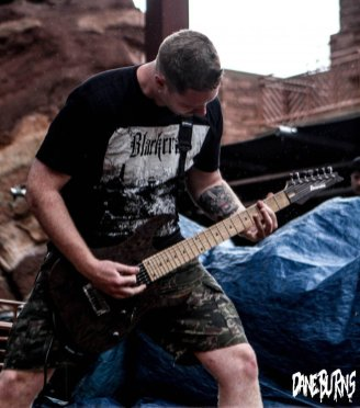 Thy Art Is Murder at Red Rocks ©Dane Burns
