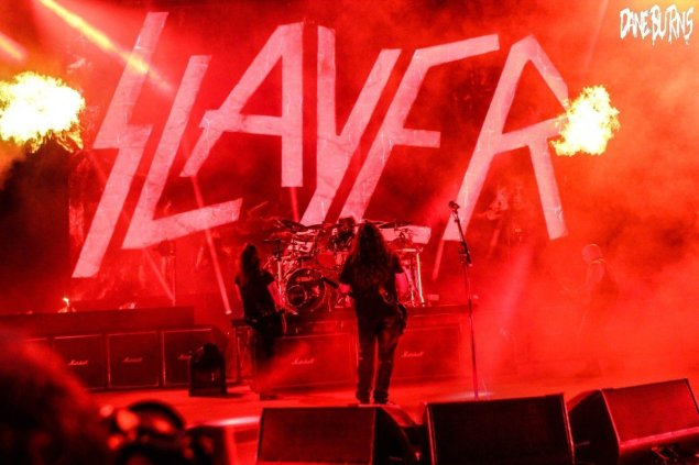 Slayer at Red Rocks ©Dane Burns