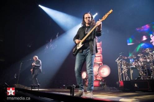 Rush at live at Rogers Arena in Vancouver, BC on July 17th 2015 © RMS Media