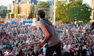 The Boom Booms at the Victoria Parliament Building Grounds - July 1st 2015 © RMS Media