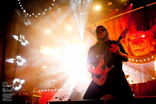 Mick Thomson of Slipknot @ White River Amphitheatre during Pain in the Grass © Michael Ford