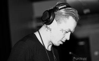 DJ Starscream studio bar SpitfirePhotographs