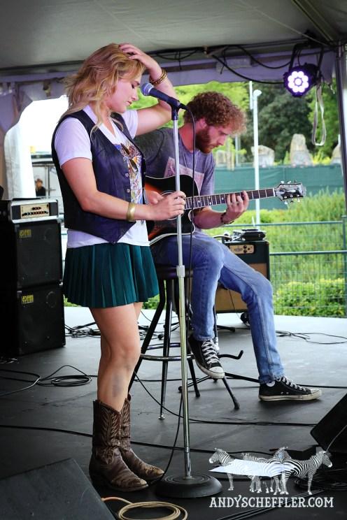 Colleen Rennison @ Burnaby Blues & Roots - Aug. 08, 2015 © Andy Scheffler