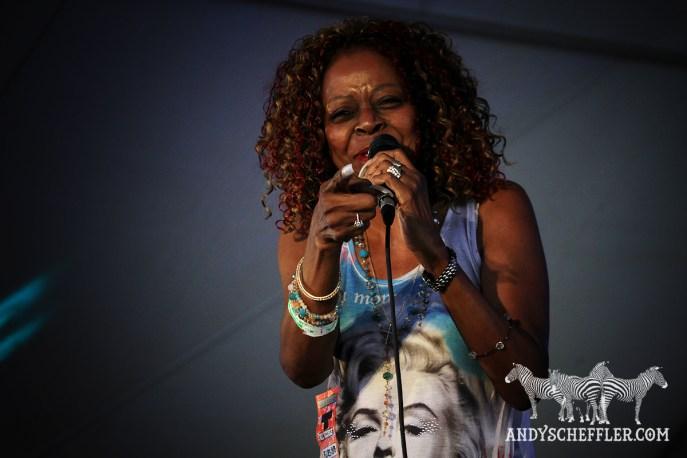Sibel Thrasher @ Burnaby Blues & Roots - Aug. 08, 2015 © Andy Scheffler
