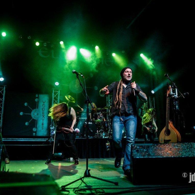 Eluveitie @ MacEwan Hall © J. Dirom