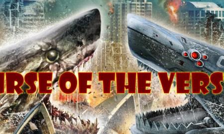 Mega Shark vs. Crocosaurus [2010] poster review podcast curse of the versus