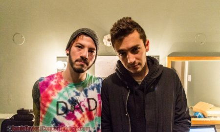 Tyler Joseph and Joshua Dun of Twenty One Pilots @ The Vogue Theatre Vancouver - December 9th 2015