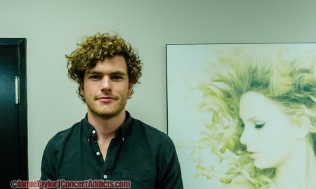 Interview with Vance Joy on January 11th 2016 in Vancouver, BC