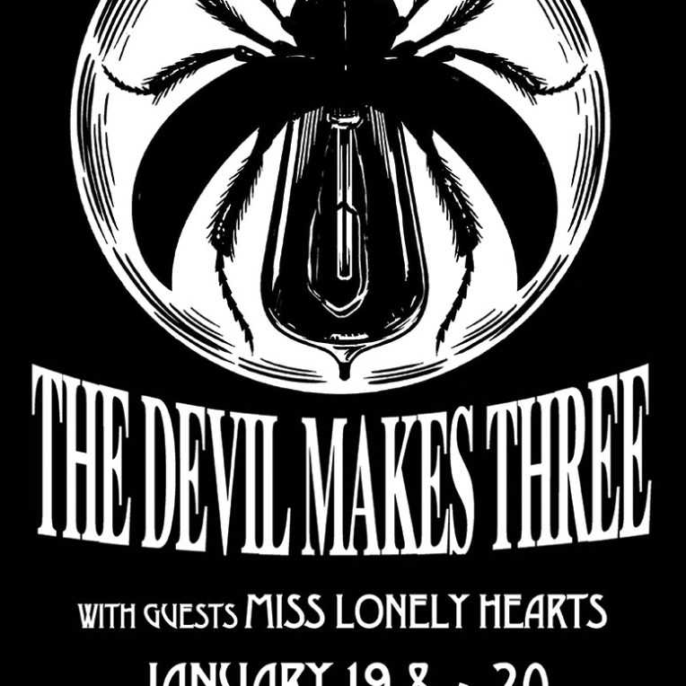Contest Giveaway to Win Tickets to The Devil Makes Three at Commodore Ballroom in Vancouver, BC on January 20th 2016