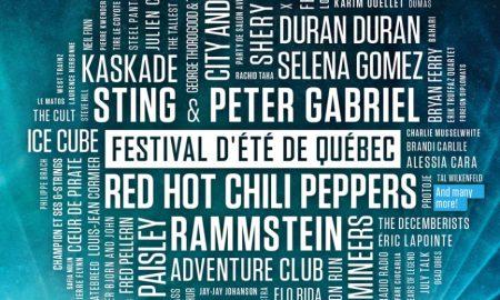 Le Festival d'été de Québec Announces Full 2016 Lineup