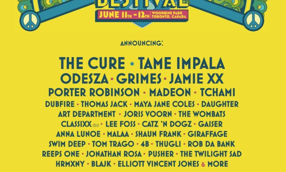 Festivals | Toronto's Bestival Unveils Full Lineup | Concert Addicts
