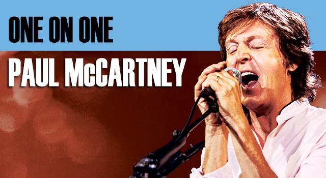 OneOnOne_Announcement_MainNews Paul mccartney