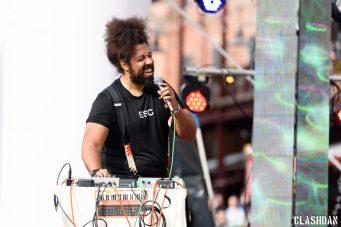 Reggie Watts @ Moogfest 2016 © Dan Kulpa