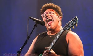 Brittany Howard of Alabama Shakes at Deer Lake Park on May 28th 2016